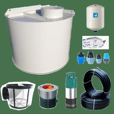 Seto pro splachování WC a zálivku zahrady